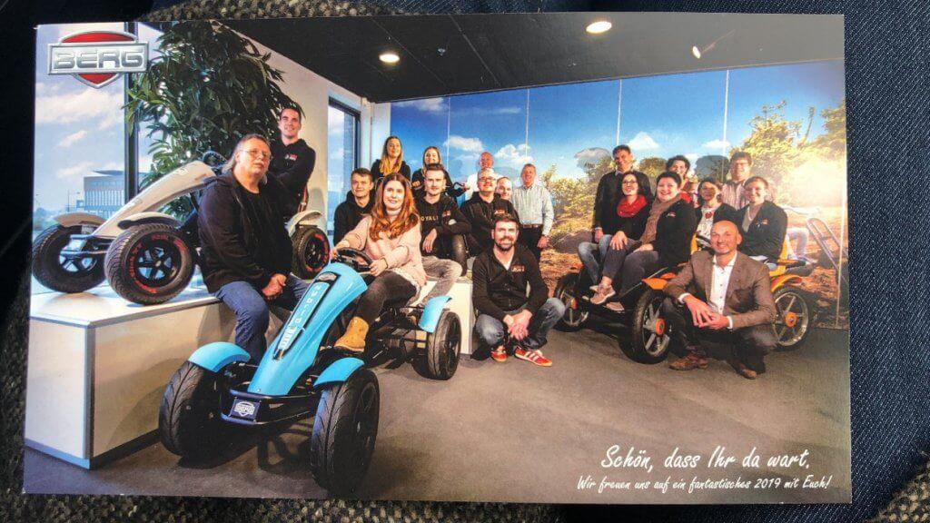 Jahresrückblick 2019 bei TRAMPOLIN PROFI - Inforeise zu BERG Toys und EXIT Toys Niederlande