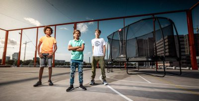 BERG Toys Trampolin Neuheiten 2020 - trampolin-profi.de Spielwarenmesse 2020