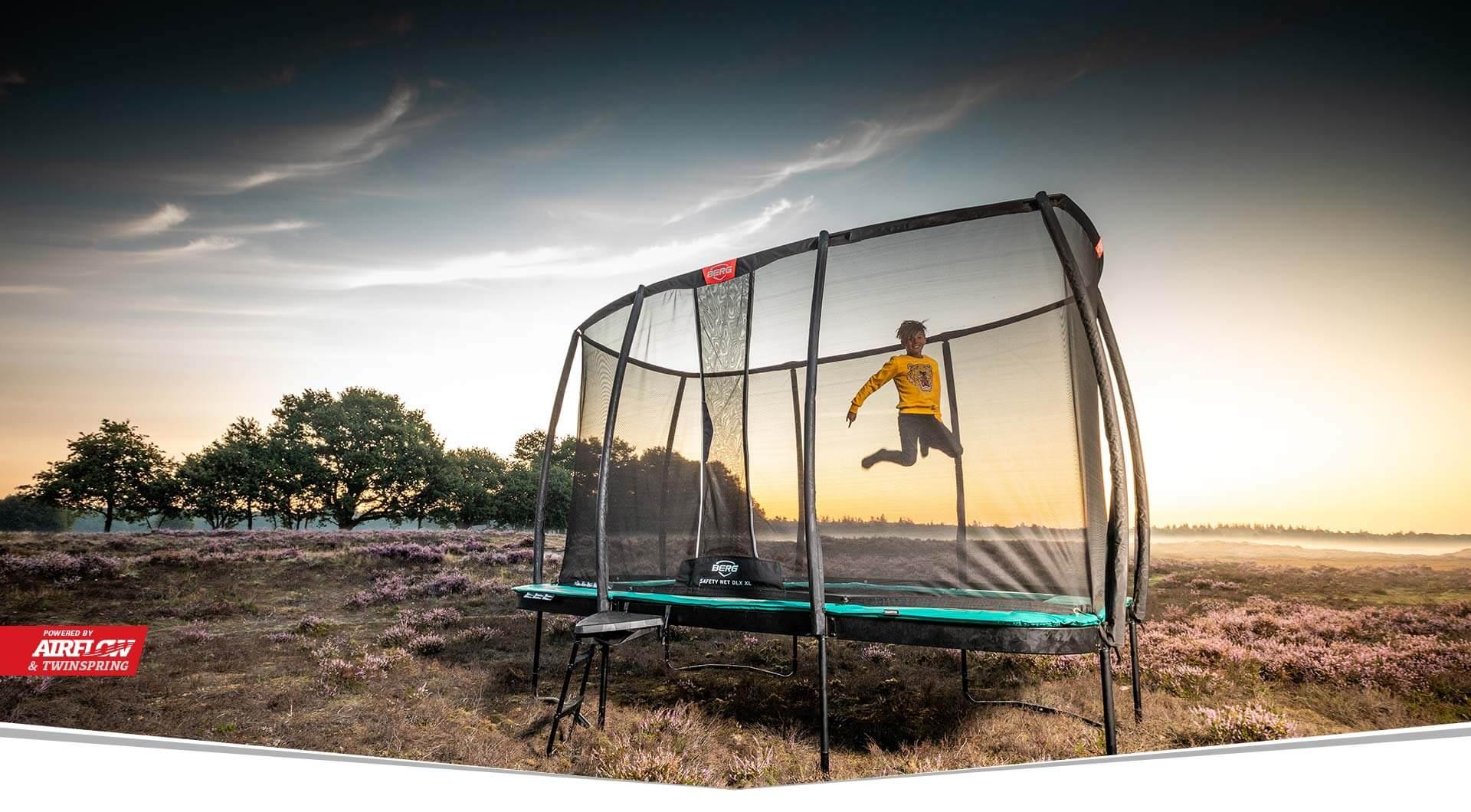 BERG Ultim Champion - Neuheit 2020 - trampolin-profi.de