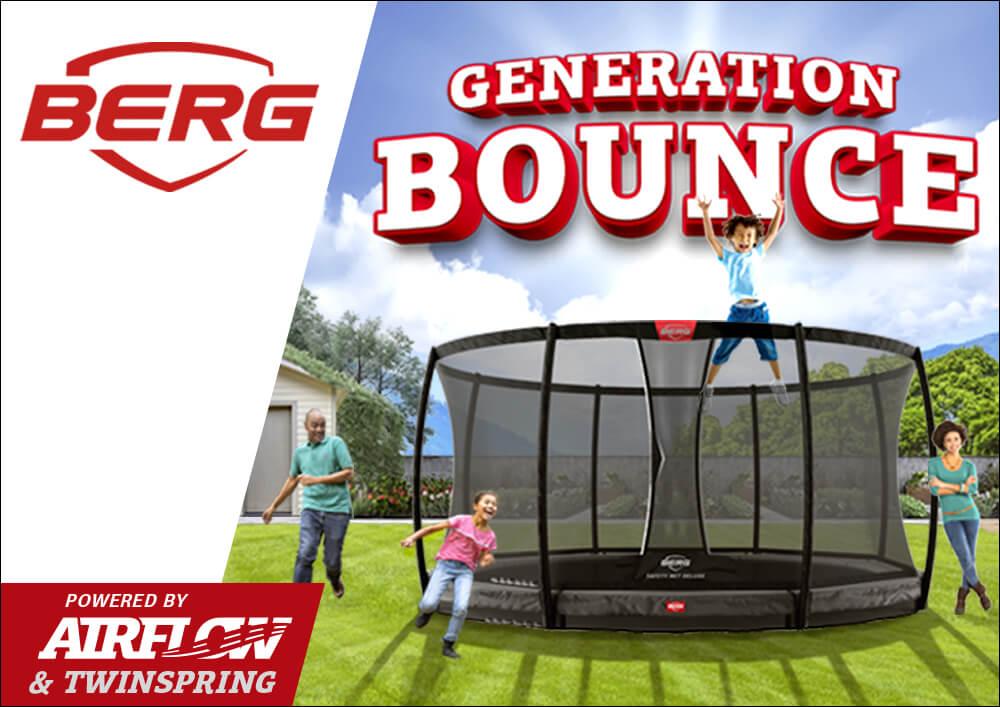 Generation Bounce BERG Trampolin Kampagne auf trampolin-profi.de