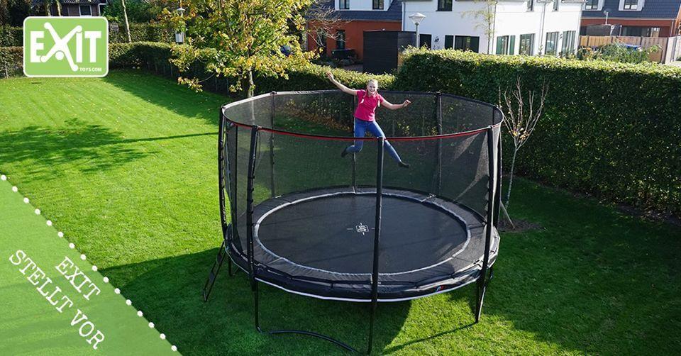 EXIT Neuheit: PeakPro Trampolin - jetzt bestellen als Trampolin vom Osterhasen oder auch zur Kommunion - trampolin-profi.de