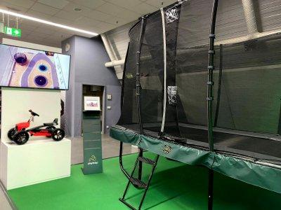 Freizeitmesse Impressionen: Trampolinspaß, Gokart Power & Co. - trampolin-profi.de