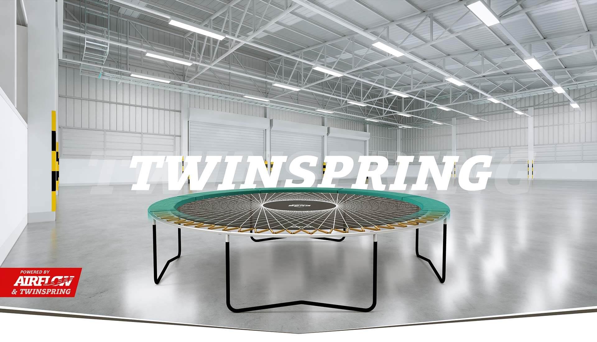 TwinSpring Gold - Generation Bounce - BERG Trampolin - Kampagne 2020 - trampolin-profi.de