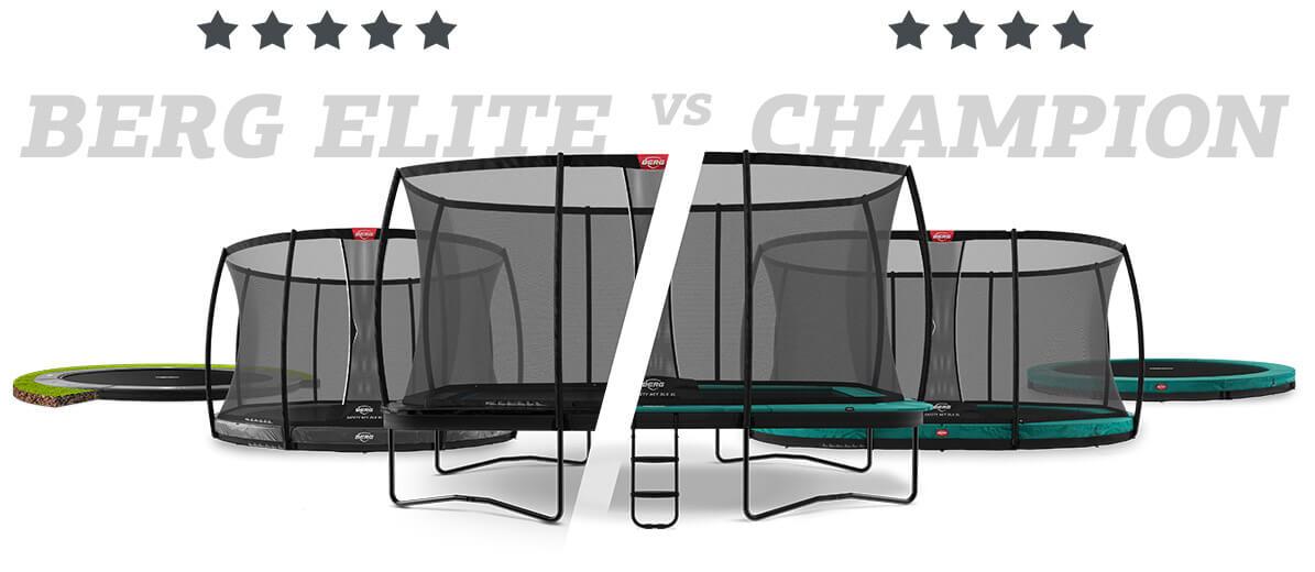 Generation Bounce bei trampolin-profi.de - BERG Elite und BERG Champion