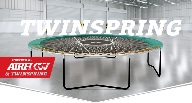 TwinSpring Federung - BERG Champion Black - trampolin-profi.de