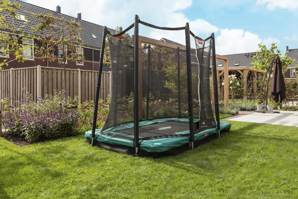 Favorit Ultim Ingroundset mit Netz - kaufen auf trampolin-profi.de