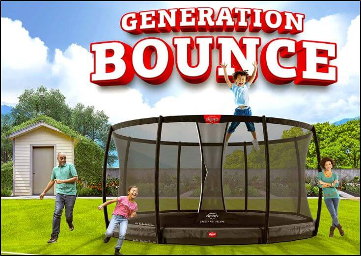 Springspaß kaufen bei trampolin-profi.de BERG Trampoline = Generation Bounce