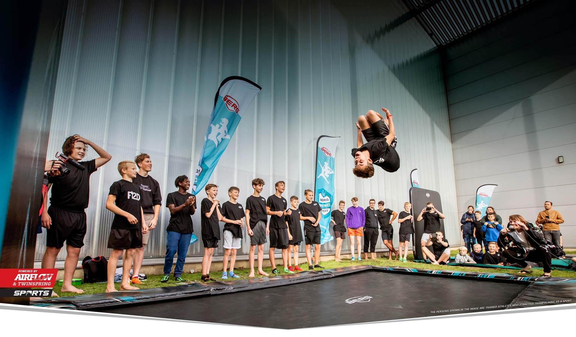 BERG Sports begeistert nicht nur die Jugend - Beratung trampolin-profi.de
