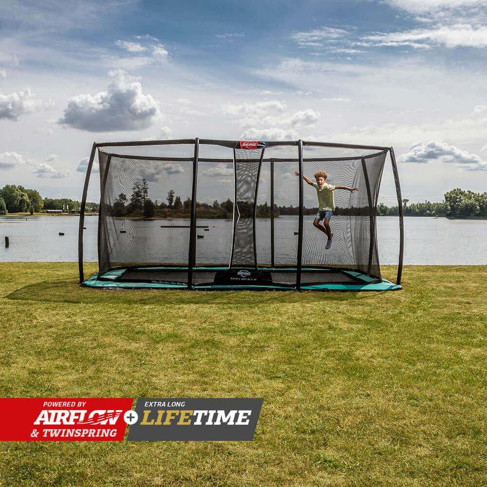Ebenerdige Trampoline kaufen auf trampolin-profi.de