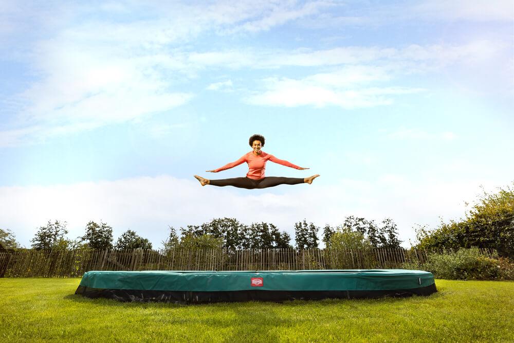BERG Sports - trampolin-profi.de Beratung - Trampolin ebenerdig