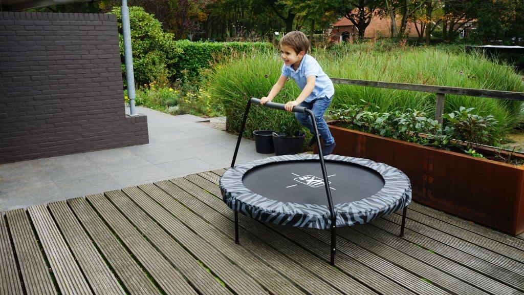 Exit Tiggy Junior macht schon Kleinkinder sportlich - Beratung trampolin-profi.de