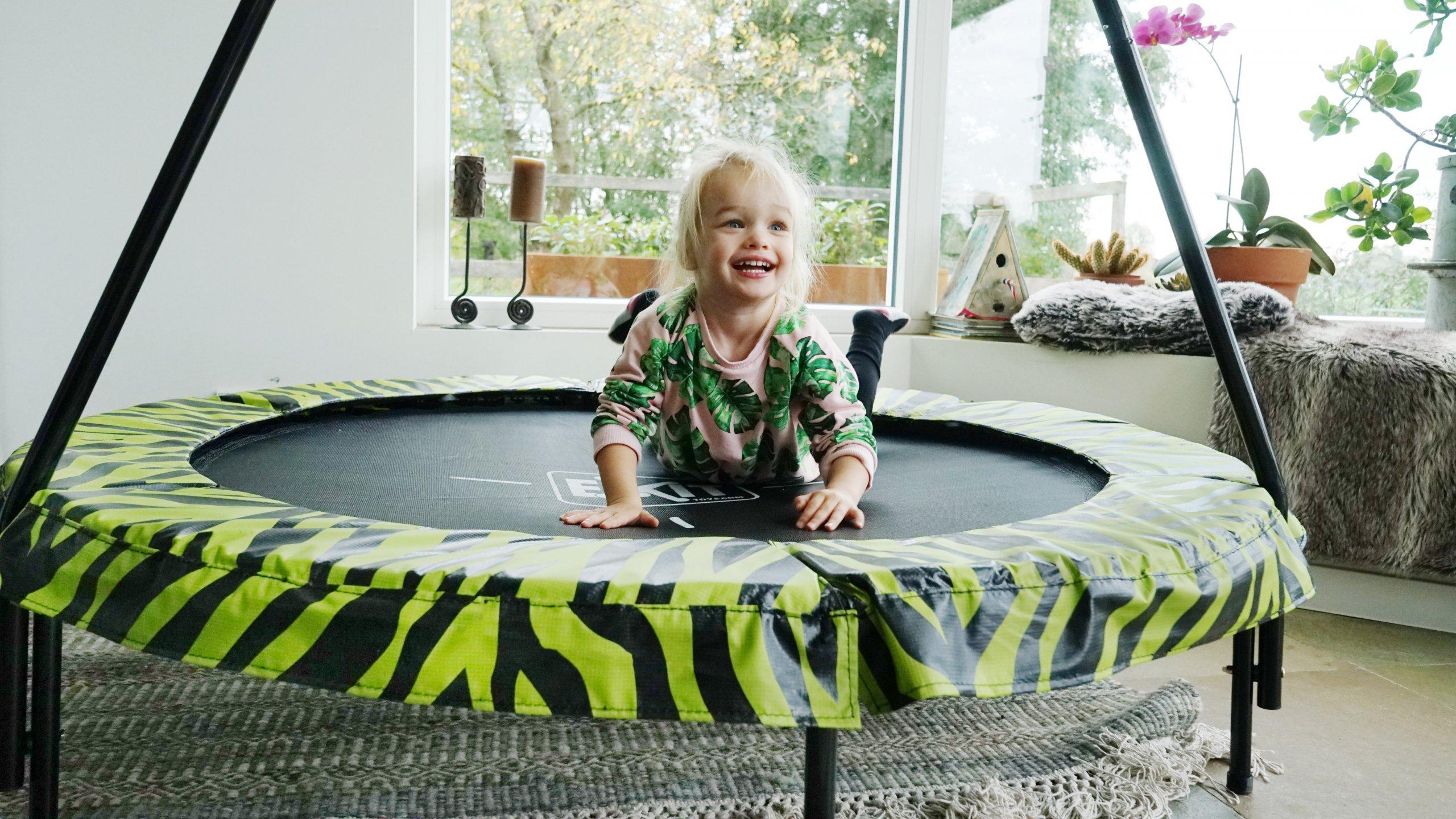 EXIT Tiggy Junior für drinnen und draußen - Kinderzimmer Trampolin - kaufen auf trampolin-profi.de