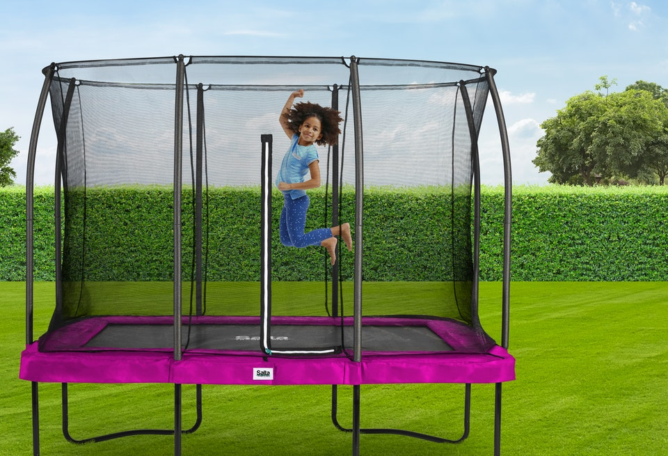 SALTA Comfort Rechteckig - Modelle jetzt finden auf trampolin-profi.de
