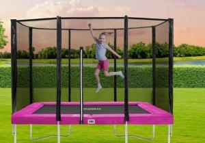 SALTA Combo Trampolin in Pink - kaufen auf trampolin-profi.de