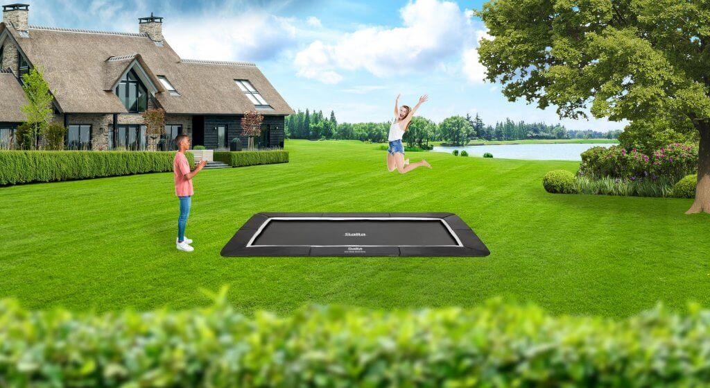 SALTA Royal Baseground Rechteckig kaufen auf trampolin-profi.de