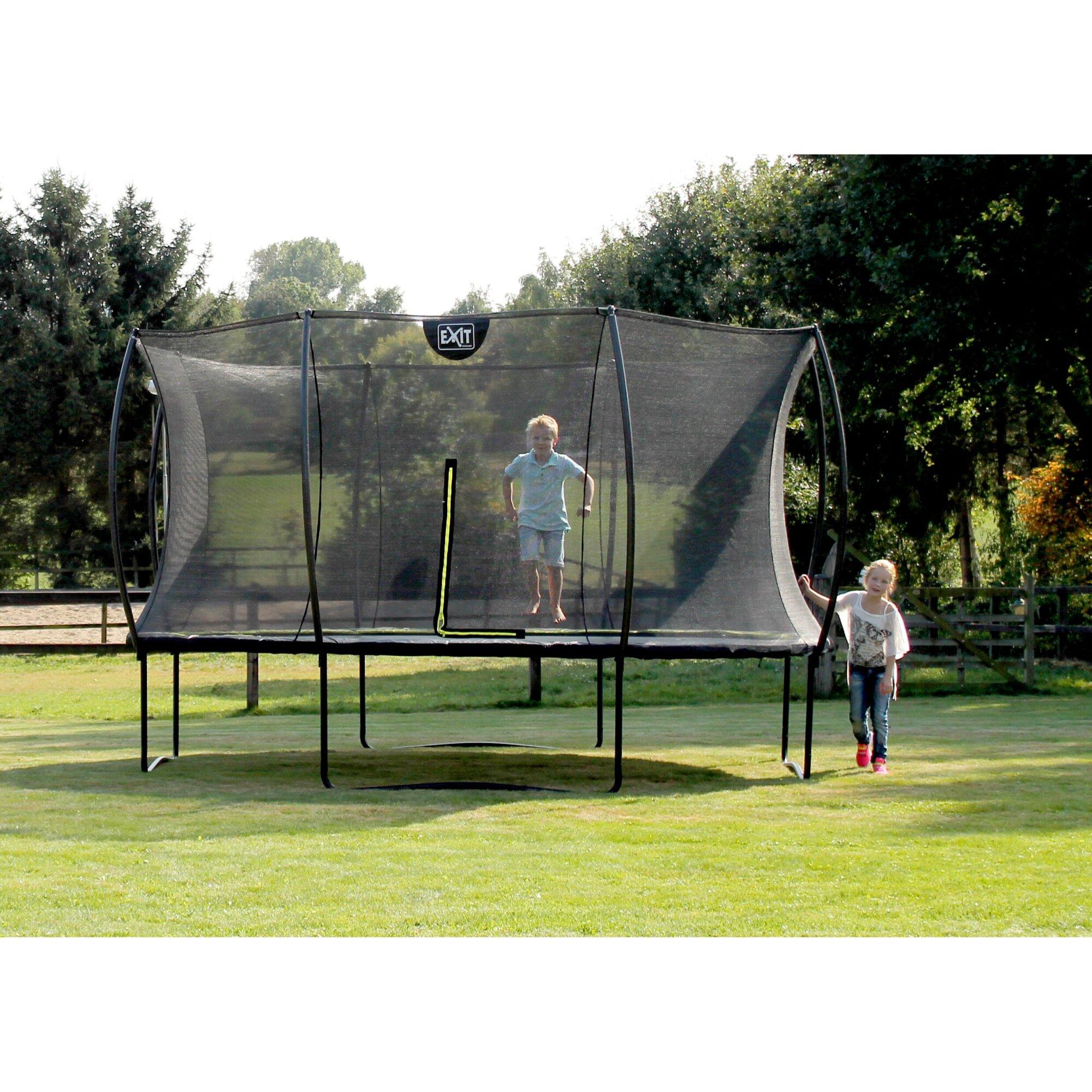 EXIT Silhouette Trampolin - jetzt bestellen bei trampolin-profi.de