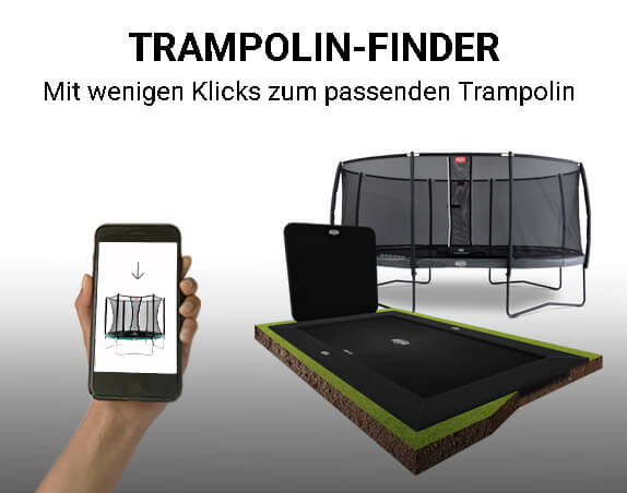 Trampolin Auswahlassistent