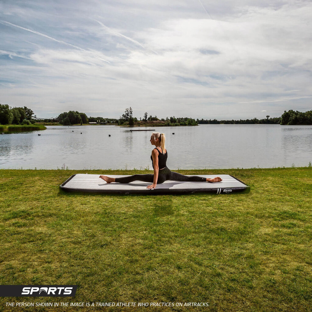 Air Track von BERG - als Sportunterlage vielseitig - kaufen auf trampolin-profi.de