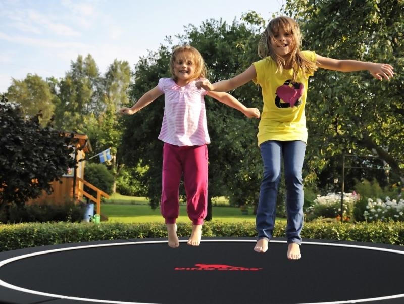Spaß auf DINO Trampolinen - kaufen auf trampolin-profi.de