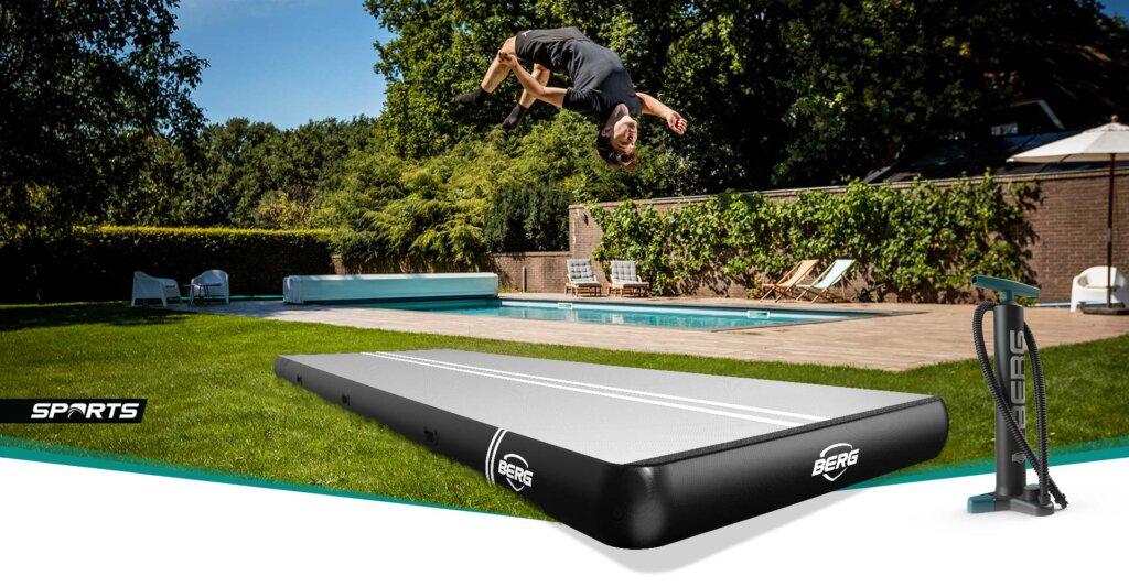 BERG Air Track Matten - jetzt bestellen auf trampolin-profi.de
