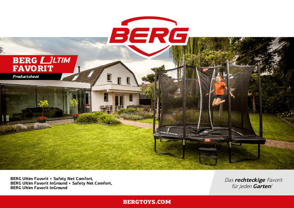 BERG Favorit Black Edition - kaufen auf trampolin-profi.de