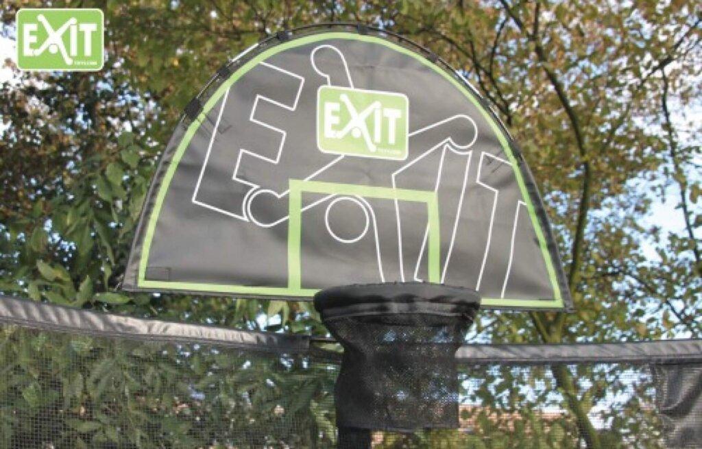 Noch mehr Spaß mit dem EXIT Basketballkorb - kaufen auf trampolin-profi.de