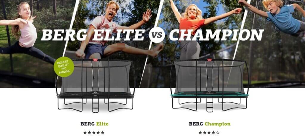 BERG Generation Bounce Trampoline - Aktion trampolin-profi.de
