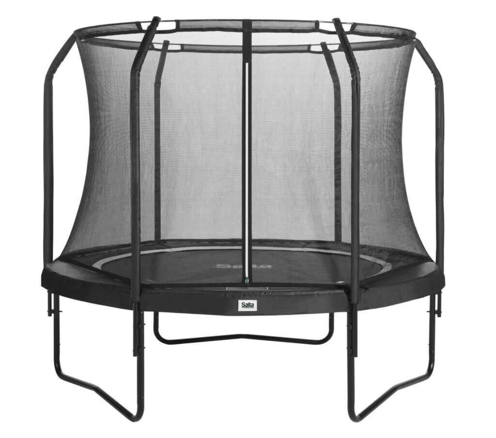 SALTA Premium Black Edition - mit allem Zubehör kaufen auf trampolin-profi.de