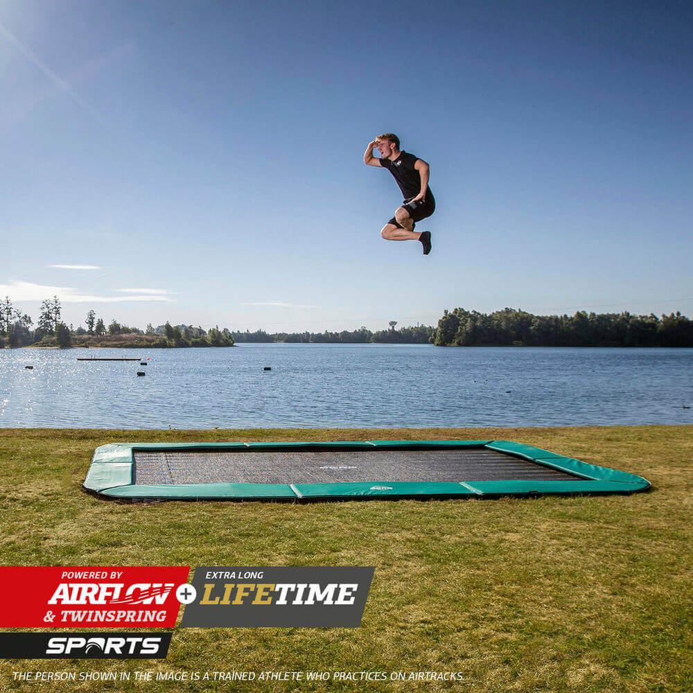 Trampolin springen hilft auch gegen Rückenschmerzen - Ratgeber trampolin-profi.de