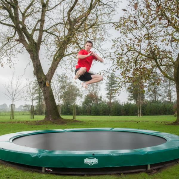 BERG Elite Trampoline auch für gewerbliche Nutzung - Beratung trampolin-profi.de