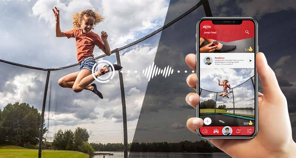 BERG AirHive Tracker - trampolin-profi.de - weltweit verbunden