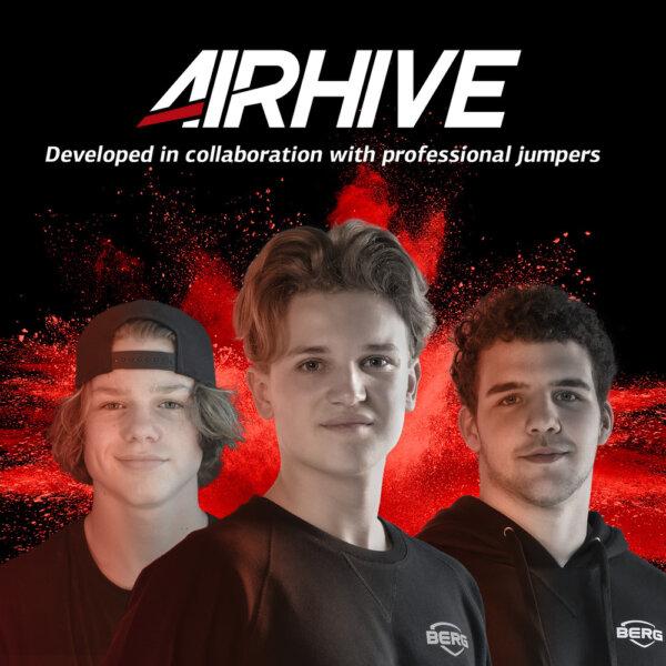BERG AirHive - professionelle Trampolinspringer - trampolin-profi.de