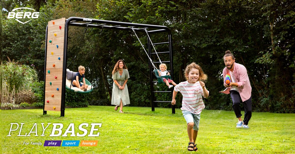 BERG PlayBase - der neue Gartenspaß auf SPIEL-PREIS.de