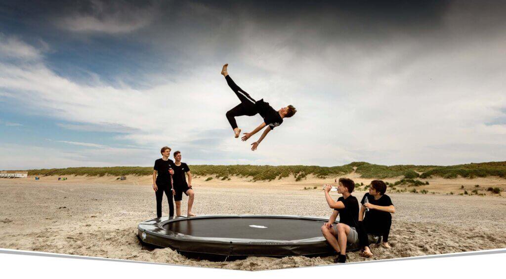 Trampolin gewerbliche Nutzung - BERG Elite - Beratung trampolin-profi.de