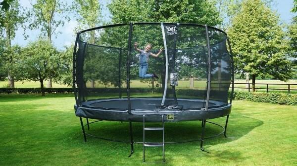 Trampoline für die ganze Familie - kaufen auf trampolin-profi.de - EXIT Elegant Reihe