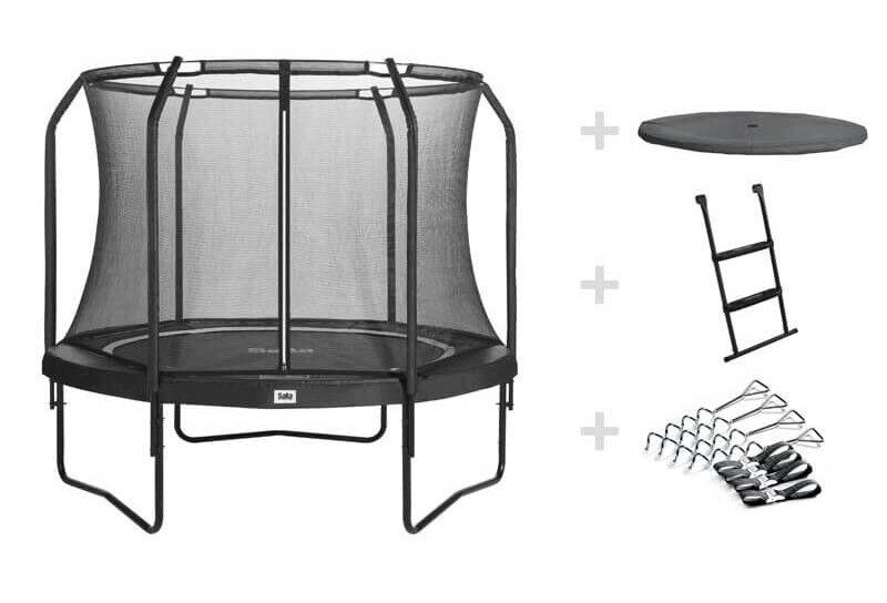 SALTA Black Edition mit allem inklusive - kaufen auf trampolin-profi.de