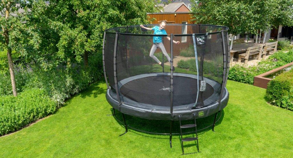 EXIT Elegant Premium Trampolin ø305cm - Angebot trampolin-profi.de