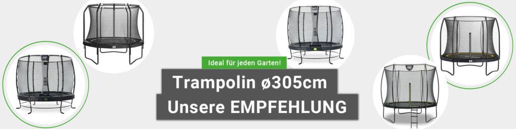 Trampoline mittlere Größe - Top Angebote bei trampolin-profi.de
