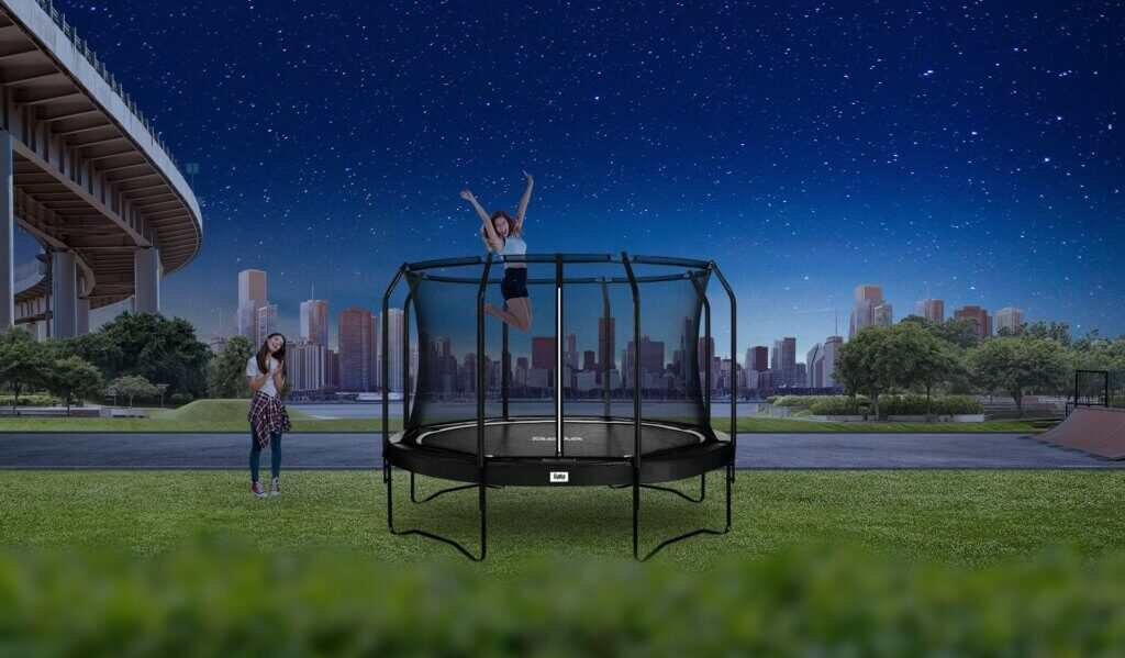 SALTA Premium Black Edition - im Angebot bei trampolin-profi.de