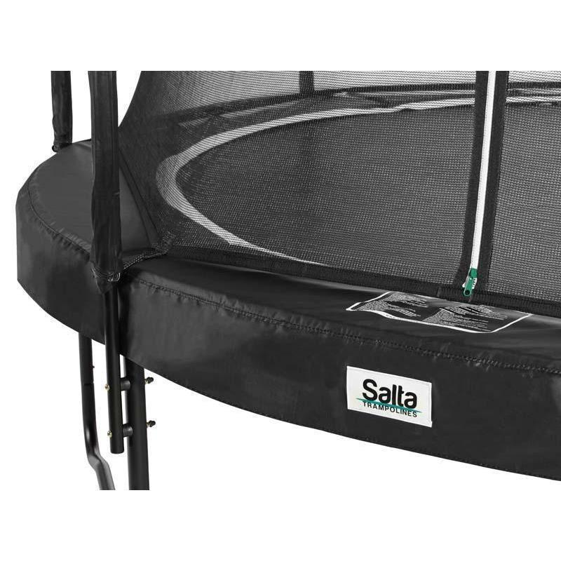 salta trampolin premium black edition schwarz rund. Black Bedroom Furniture Sets. Home Design Ideas