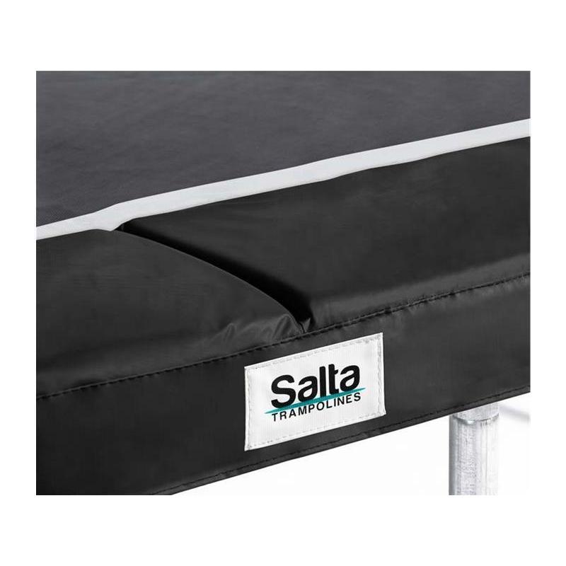 Salta Trampoline Unisex Jugend Comfort Edition Schutzrand Pink 153 x 214cm