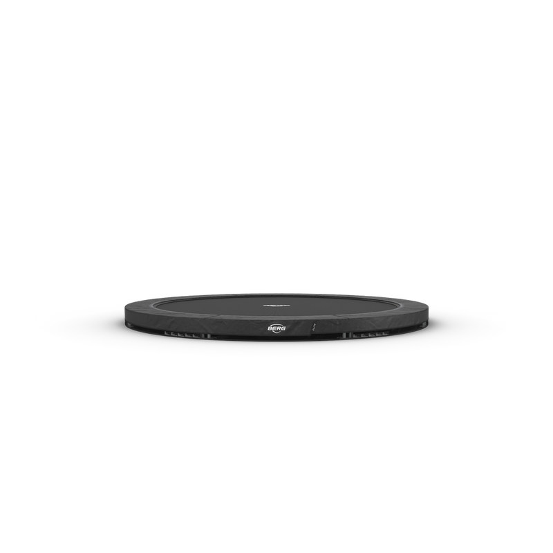 BERG Trampolin Elite Ø 430 cm InGround Sports grau