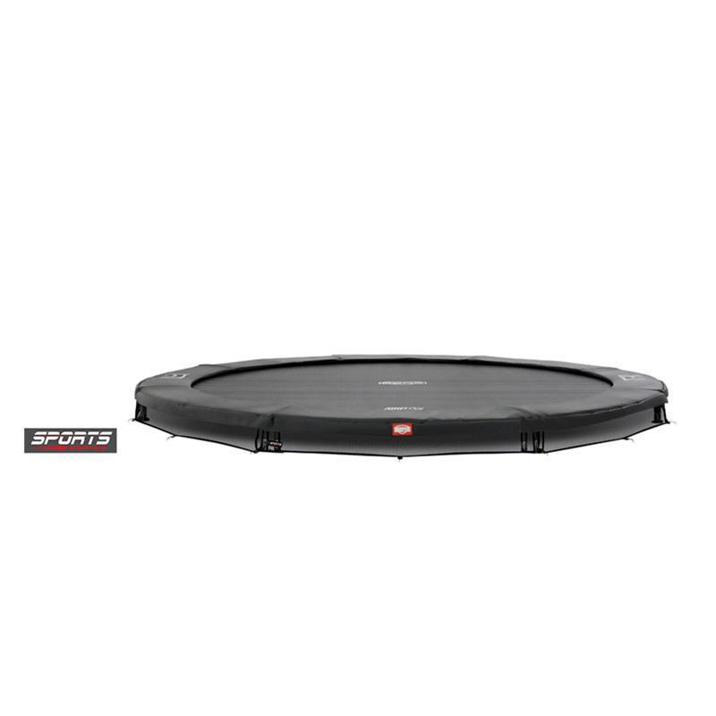 BERG Trampolin Champion Ø 430 cm Sports InGround grau //SL