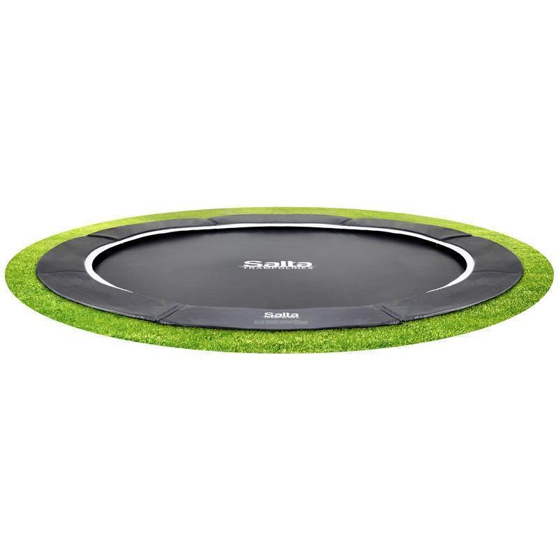 Salta Bodentrampolin Royal Base Ground Ø 305 cm rund schwarz
