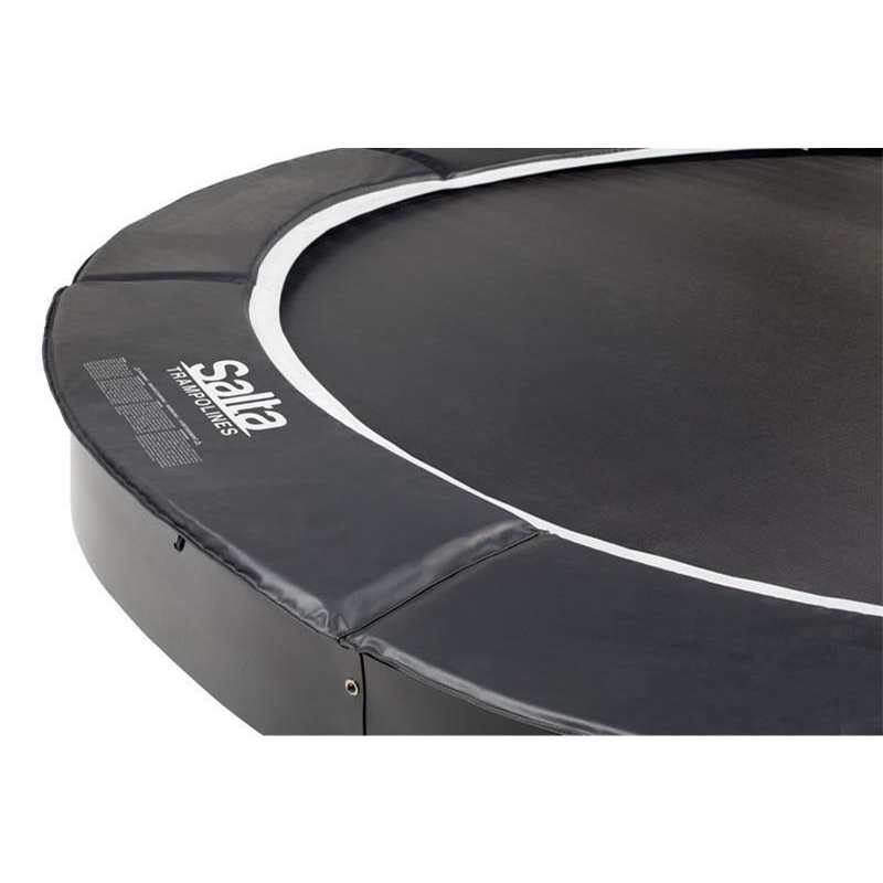 Salta Bodentrampolin Royal Base Ground Ø 366 cm rund schwarz
