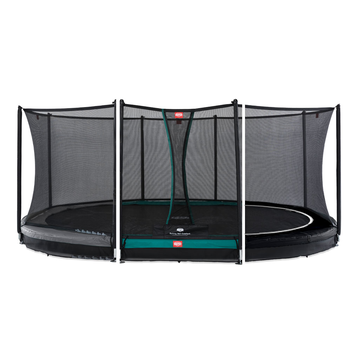 BERG Trampolin Grand Favorit oval 520 x 345 cm Inground...