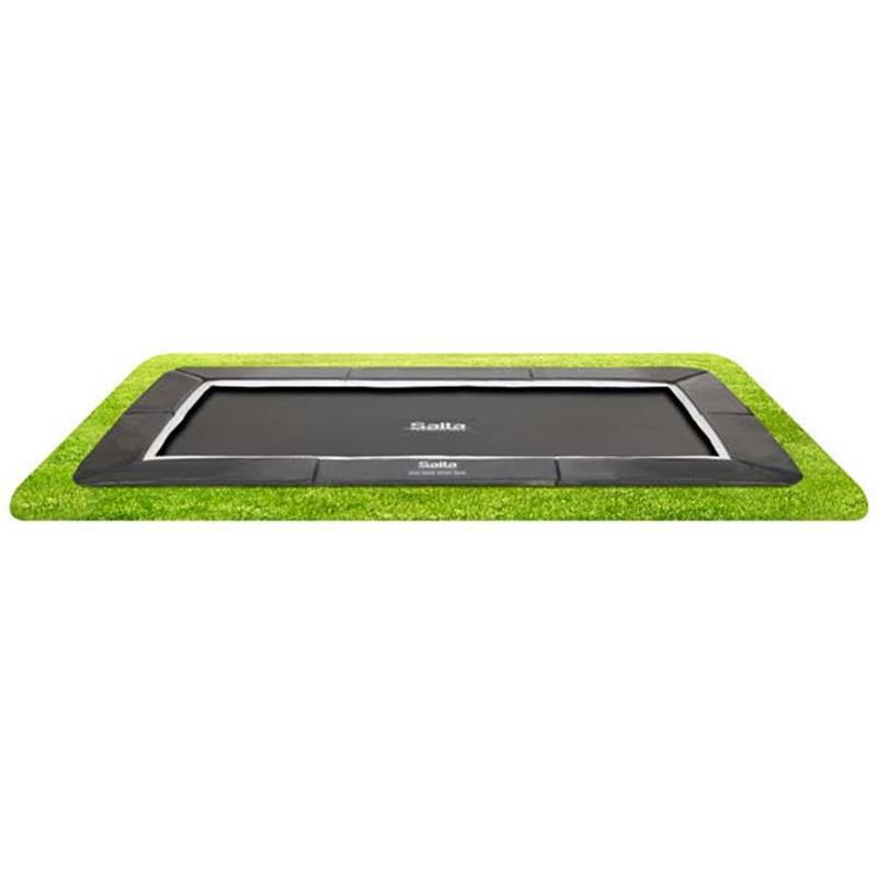 Salta Bodentrampolin Royal Base Ground rechteckig schwarz