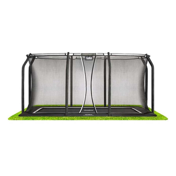 Salta Bodentrampolin Royal Base Ground rechteckig schwarz...