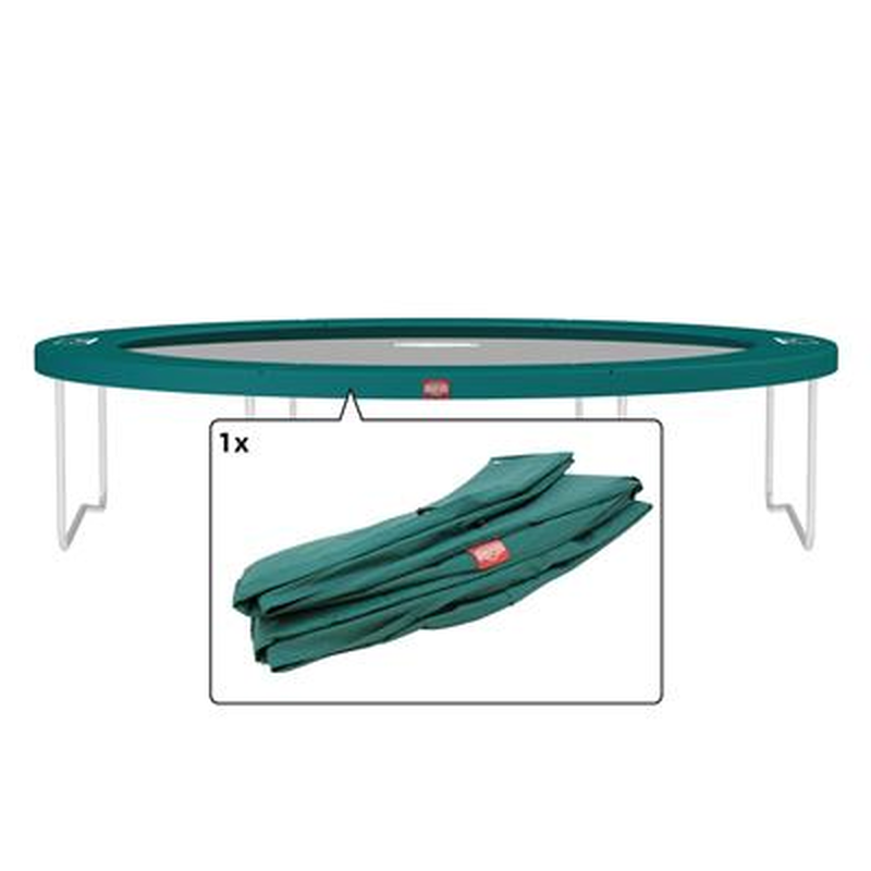 berg trampolin schutzrand favorit 380 cm ersatzteil. Black Bedroom Furniture Sets. Home Design Ideas