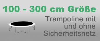 Gartentrampolin 100-300 cm